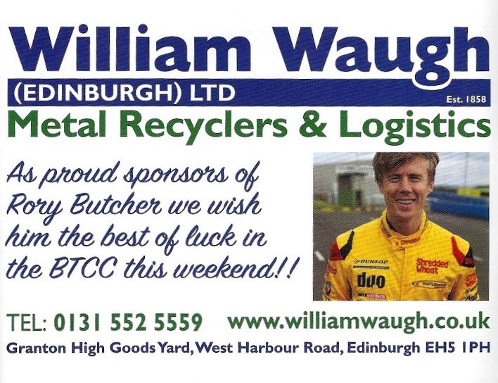 William Waugh – Happy Sponsor of Rory Butcher