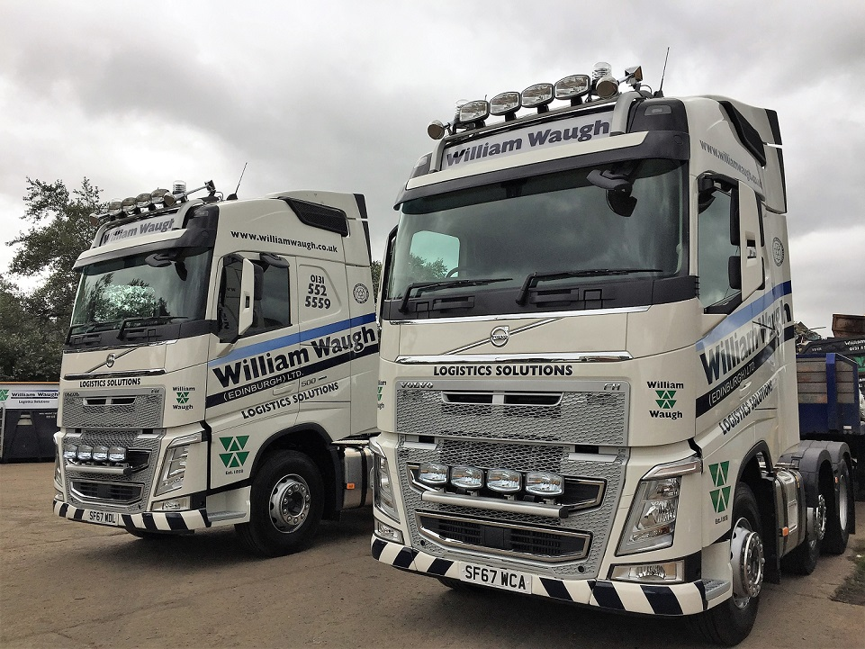 Two  more FH 500 Volvo's!
